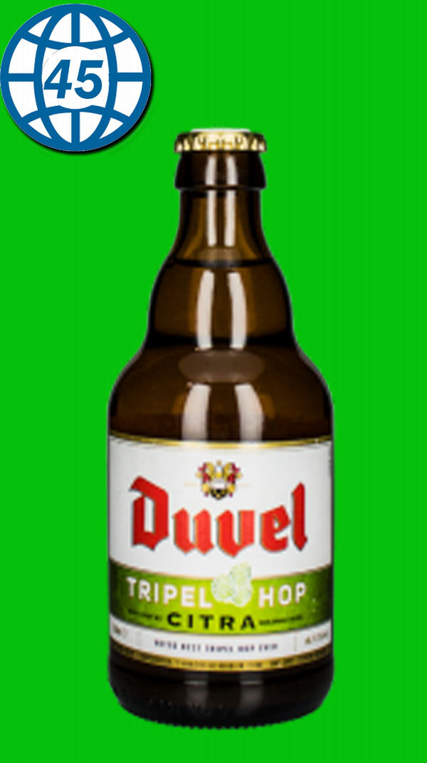 Duvel Tripel Hop Citra 0,33L Alk 9,5% vol