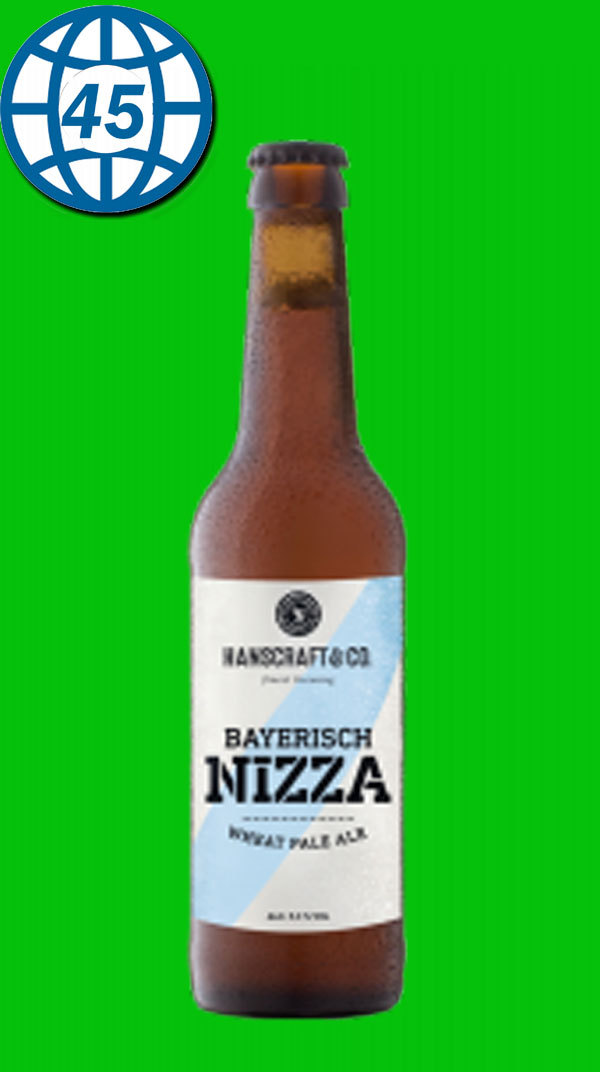 Hanscraft & Co. Bayerisch Nizza Pale Ale 0,33L Alk 5%
