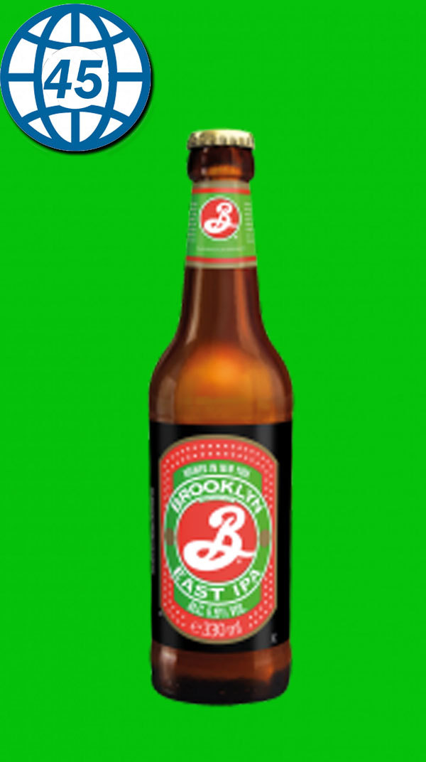 Brooklyn East India Pale Ale  0,33L Alk 6,9% vol