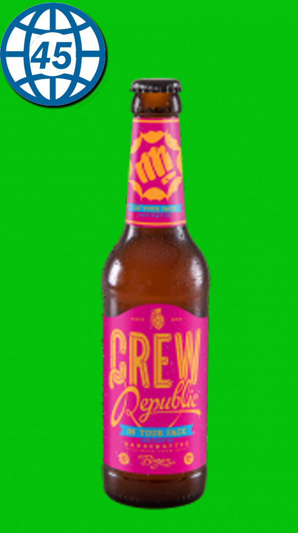 Crew In Your Face West Coast IPA  0,33L Alk 6,8% vol