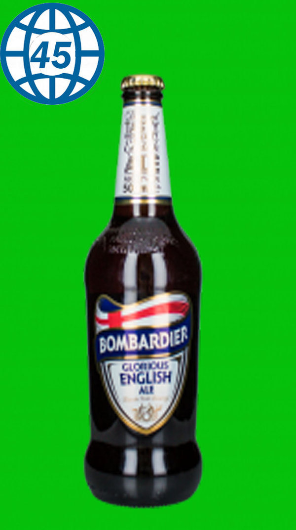 Bombardier Glorious English Ale  0,5L Alk 5,2% vol