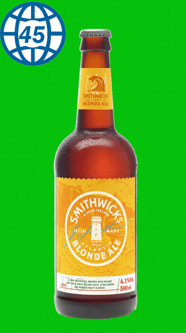 Smithwicks Blonde Ale 0,5L Alk 4,1% vol
