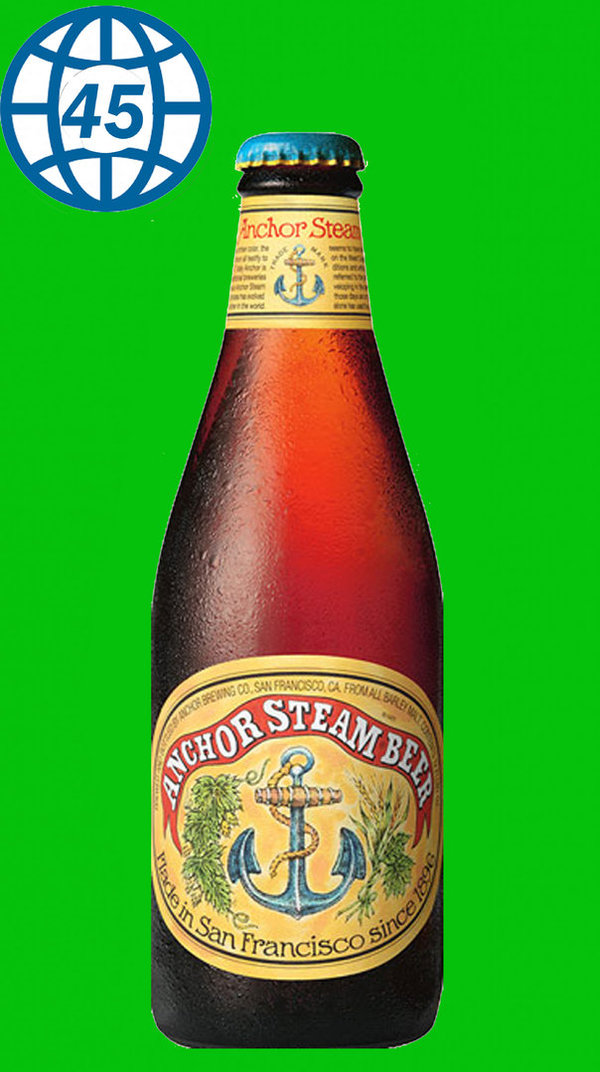 Anchor Steam Beer 0,355L Alk 4,8% vol
