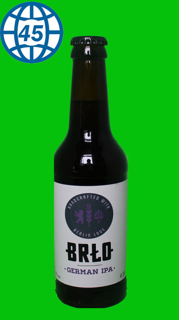 Brlo German IPA 0,33L Alk 7% vol