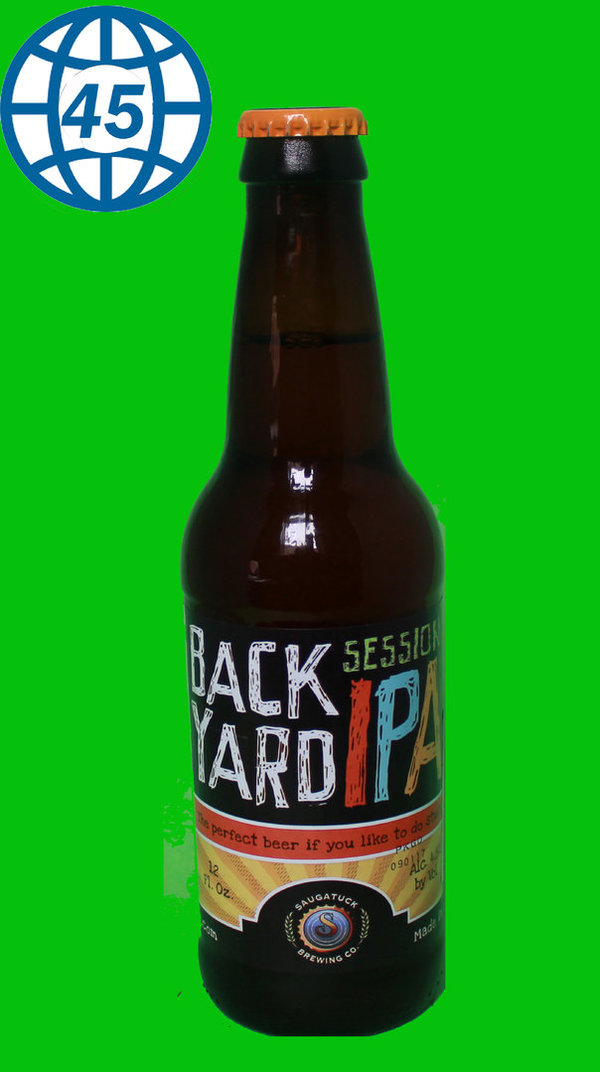 Saugastuck Backyard IPA 0,355L Alk 4,5% vol