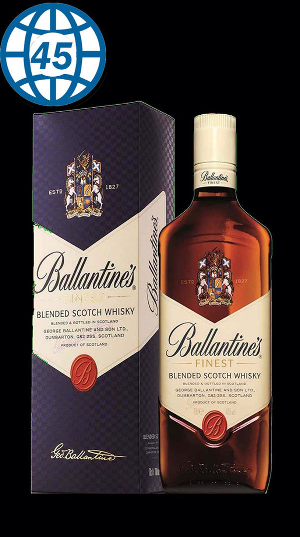 Ballantines Finest Blended Scotch Whisky 70cl 40%vol