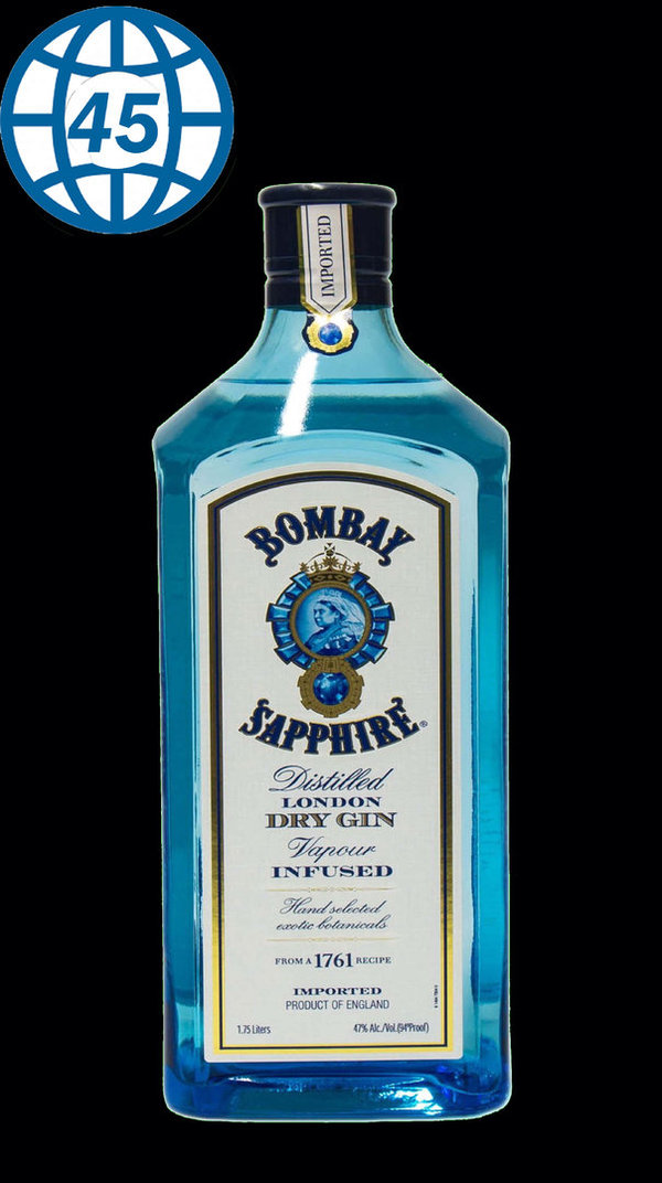Bombay Sapphire London Dry Gin 70cl 40%vol