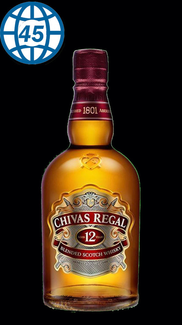 Chivas Regal Aged12 Years 70cl 40%vol