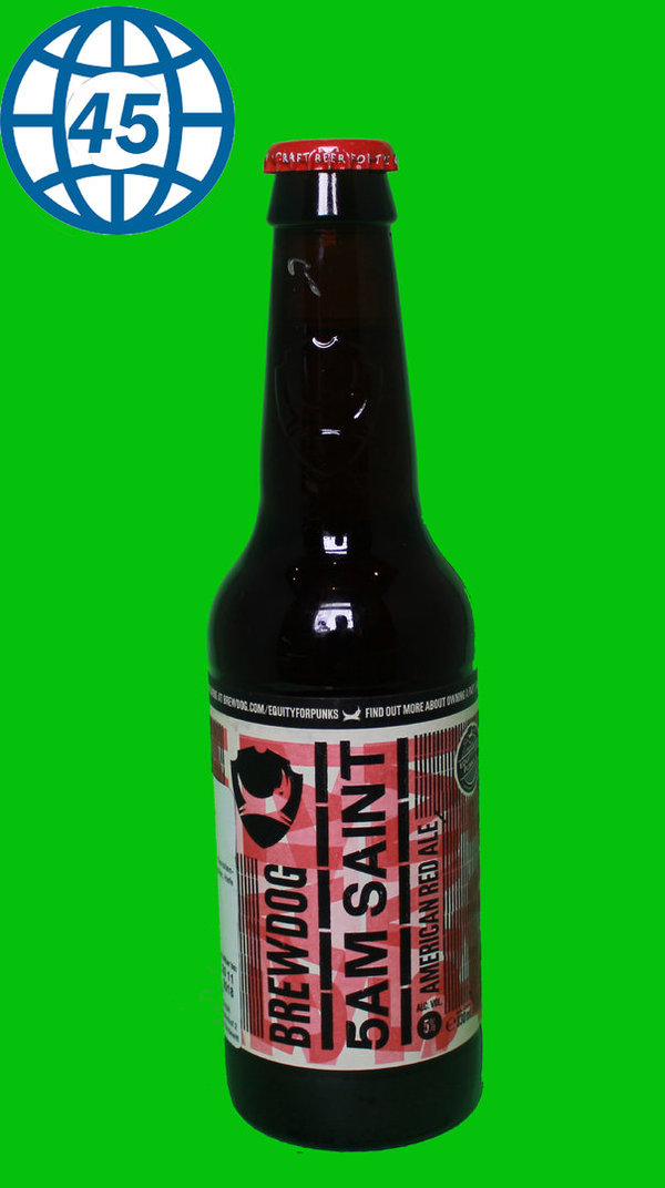 Brewdog 5 AM Saint 0,33L Alk 5% vol
