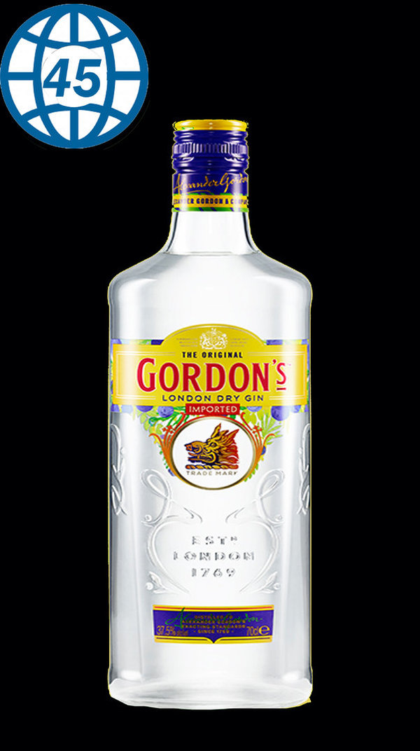 Gordons London Dry Gin 70cl 37,5%vol