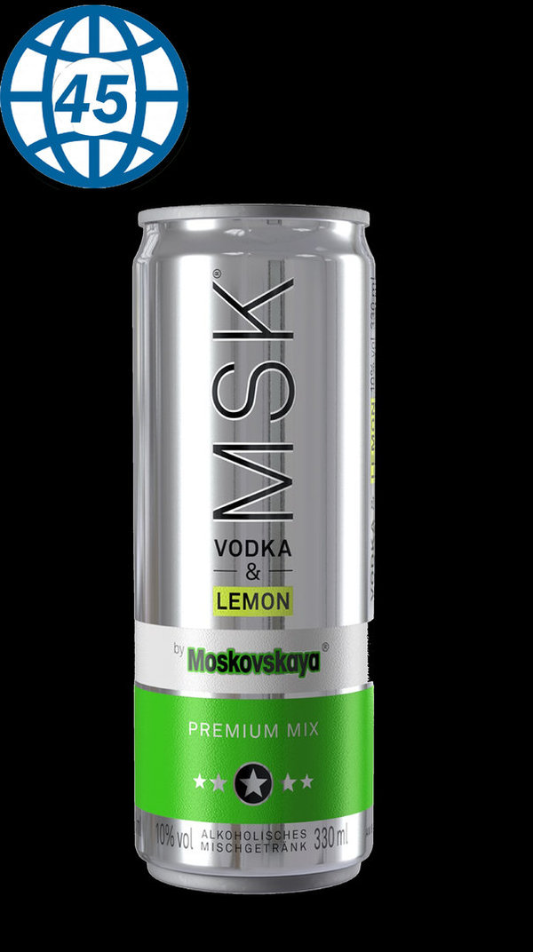 Moskovkaya Vodka&Lemon 0,33l 10%vol