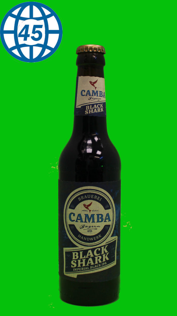 Camba Black Shark 0,33L Alk 8,5% vol