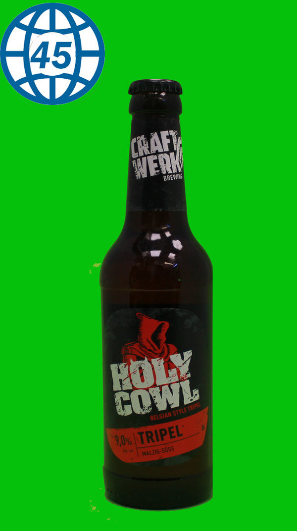 Craftwerk Brewing Holly Cowl  0,33L Alk 9% vol