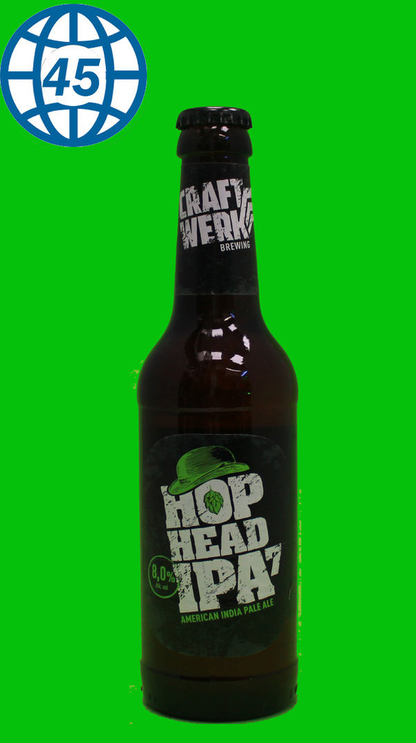 Craftwerk Brewing Hop Head IPA 7  0,33L Alk 8% vol