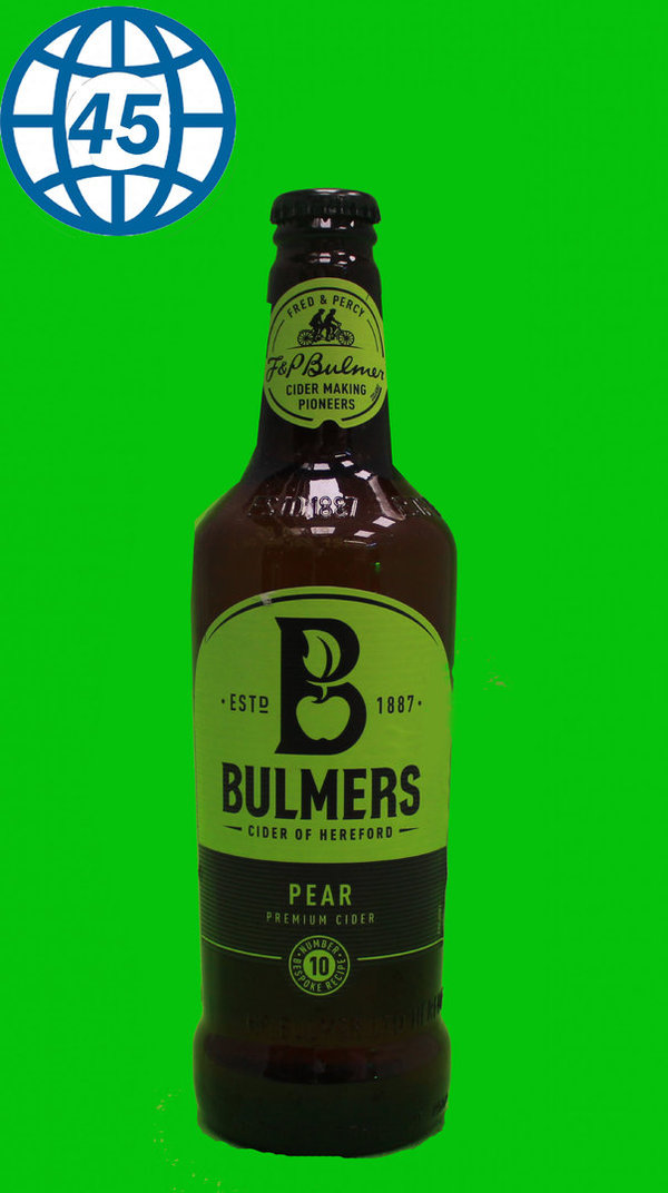 Bulmers Pear  0,5L Alk 4,5% vol