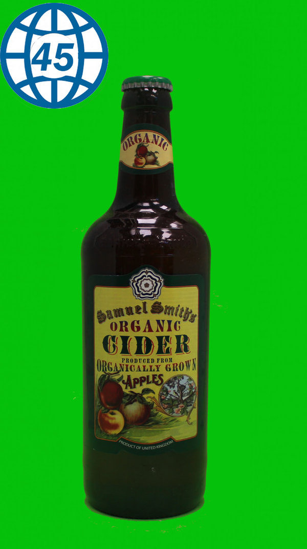 Samuel Smith Organic Cinder 0,5L Alk 5% vol
