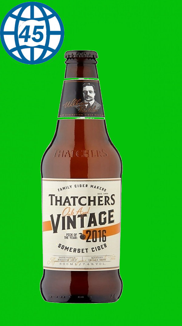 Thatchers Vintage 2016  0,5L Alk 7,4% vol