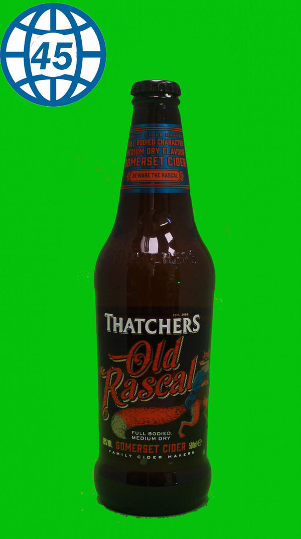 Thatchers Old Rascal  0,5L Alk 4,5% vol