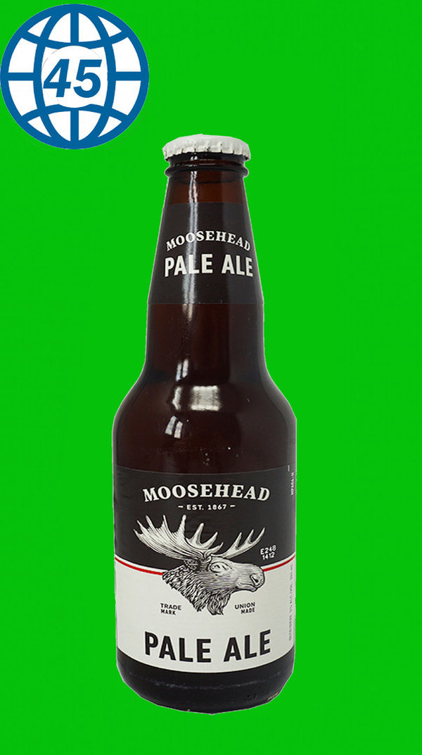 Moosehead Pale Ale 0,341L Alk 5% vol