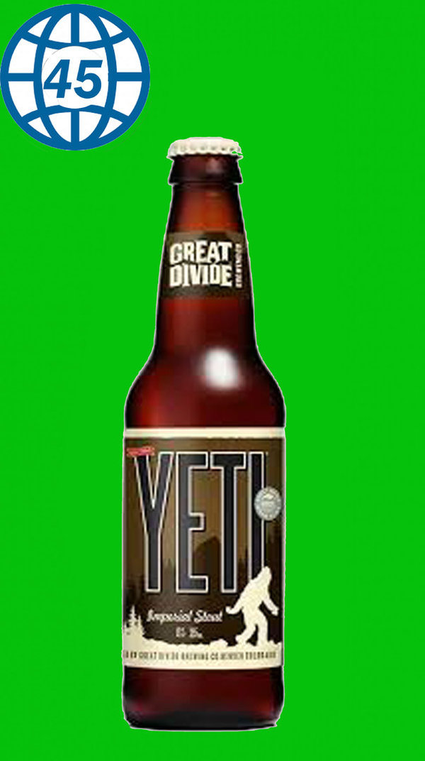 Great Divide Yeti Imperial Stout 0,355L Alk 9,5% vol
