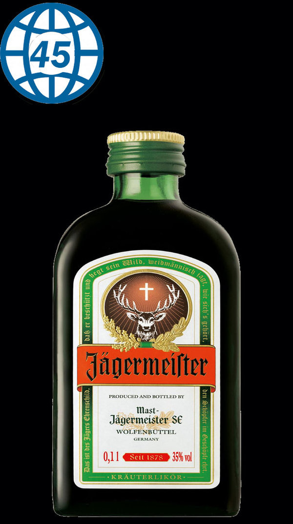Jägermeister100ml  Alk 35% vol
