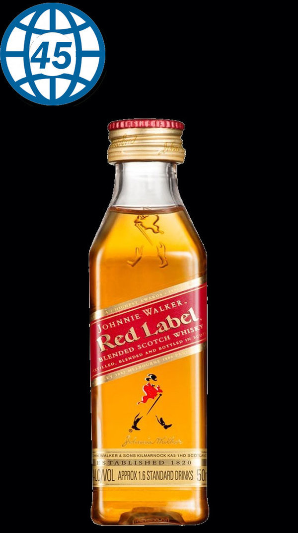 Red Label 0,05L Alk 40% vol