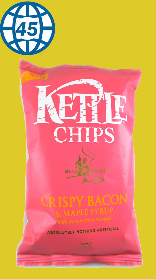 Kettle Chips Crispy Bacon&Maple Syrup 150g