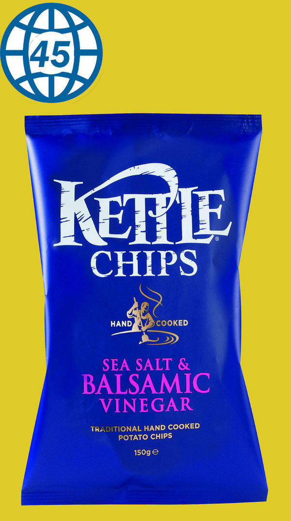 Kettle Chips Sea Salt& Balsamic Vinegar 150g