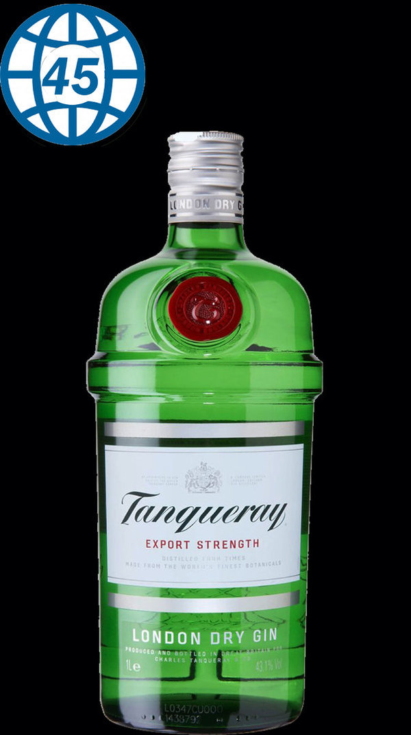 Tanqueray Imported London Dry Gin 0,7L Alk 47,3% vol