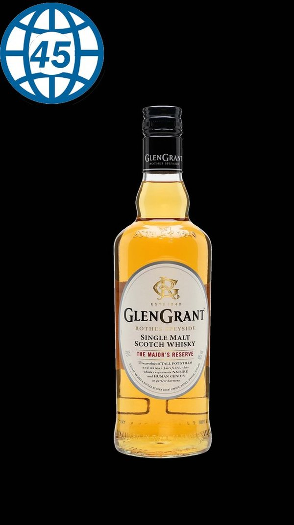 GlenGrant Single Malt Scotch Whisky The Major´s Reserve 0,7L alk 40% vol