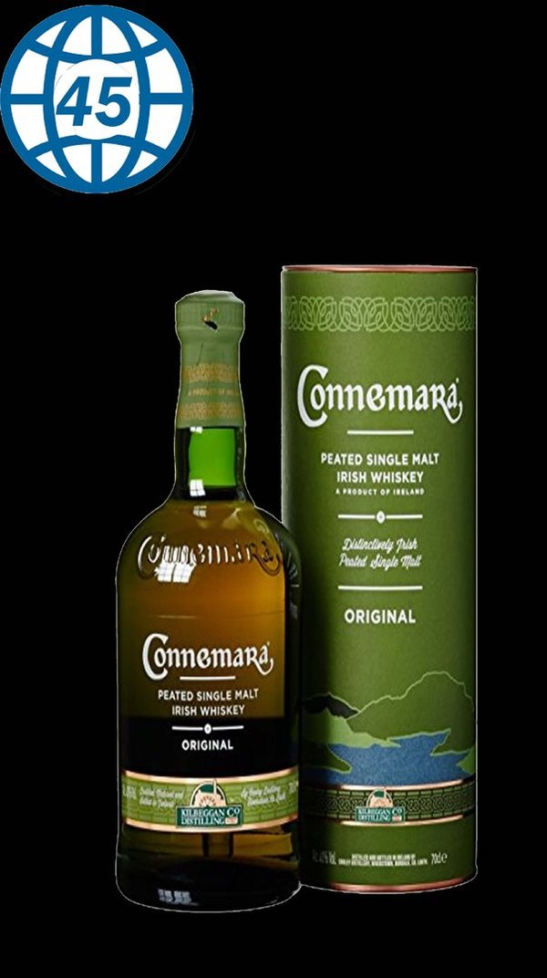 Connemara Peated Single Malt Irish Whisky Original 0,7L Alk 40% vol