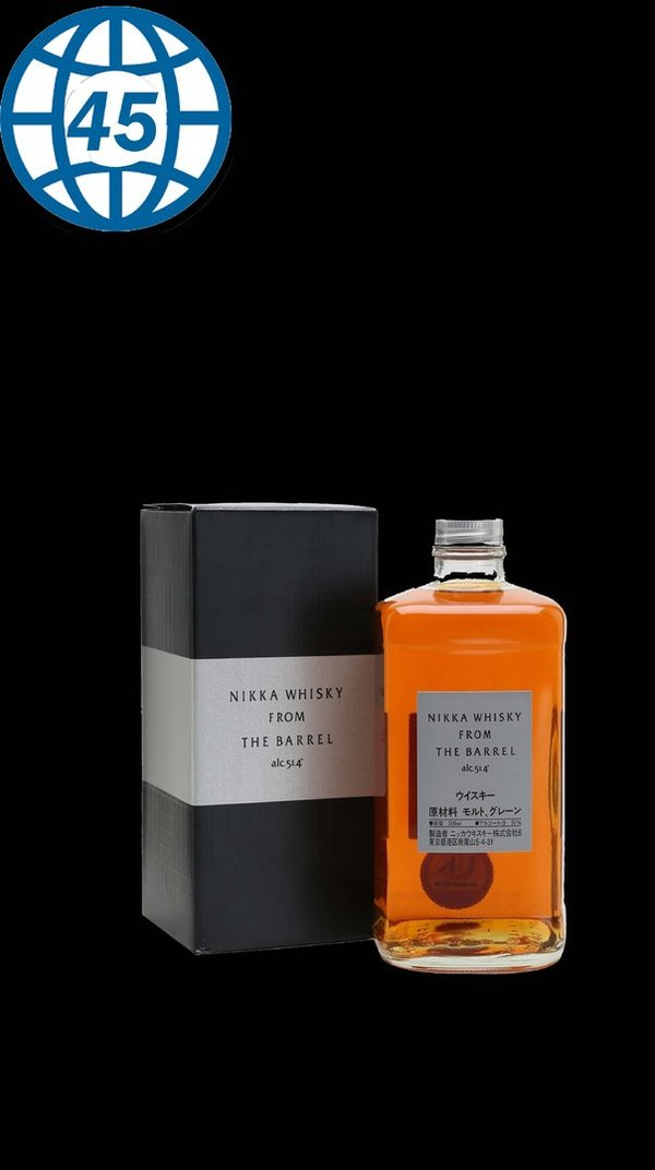 Nikka Whisky From The Barrel 0,5L Alk 51,4% vol