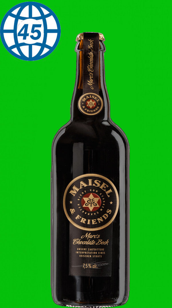 Maisel & Friends Marc´s  Chocolate Bock 0,75L Alk 7,5% Vol