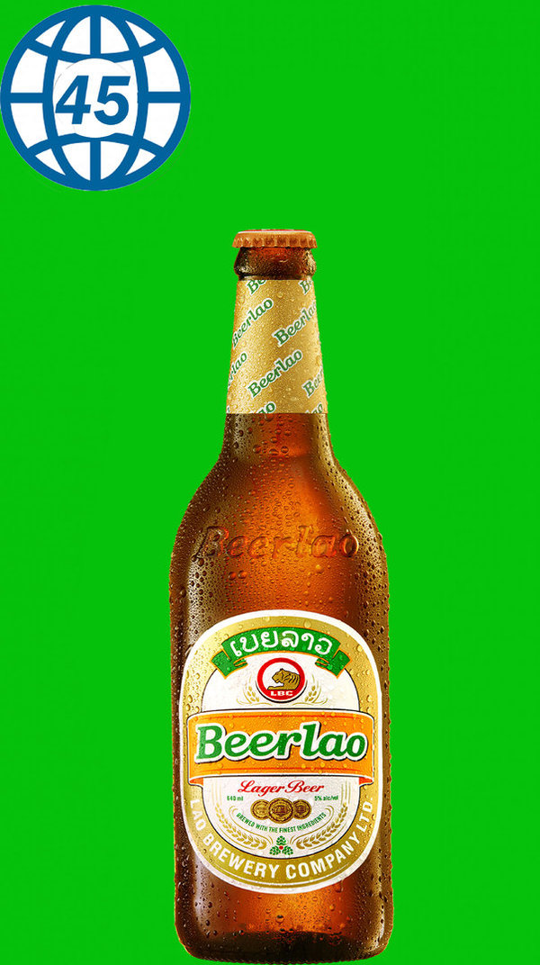Beer Lao Lager Beer 0,33L Alk 5% vol
