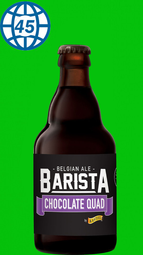 Kasteel Barista Chocolate Quad  0,33L Alk 11% vol