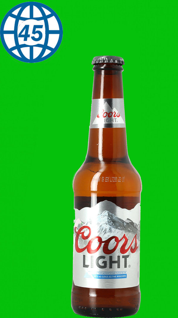 Coors Light  0,33L Alk 4% vol