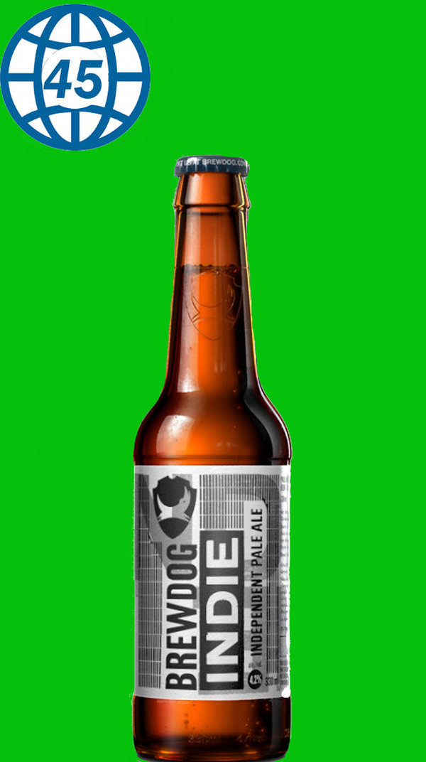 Brewdog Indie Independent Pale Ale  0,33L Alk 4,2% vol