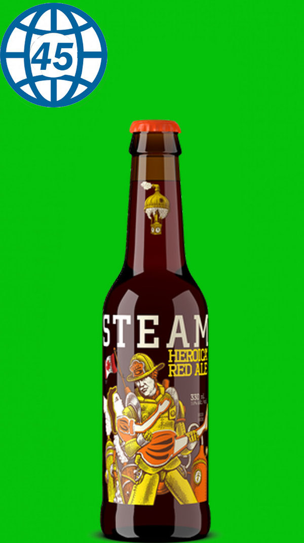 Steamworks Heroica Red Ale 0,33L Alk 5,6% vol