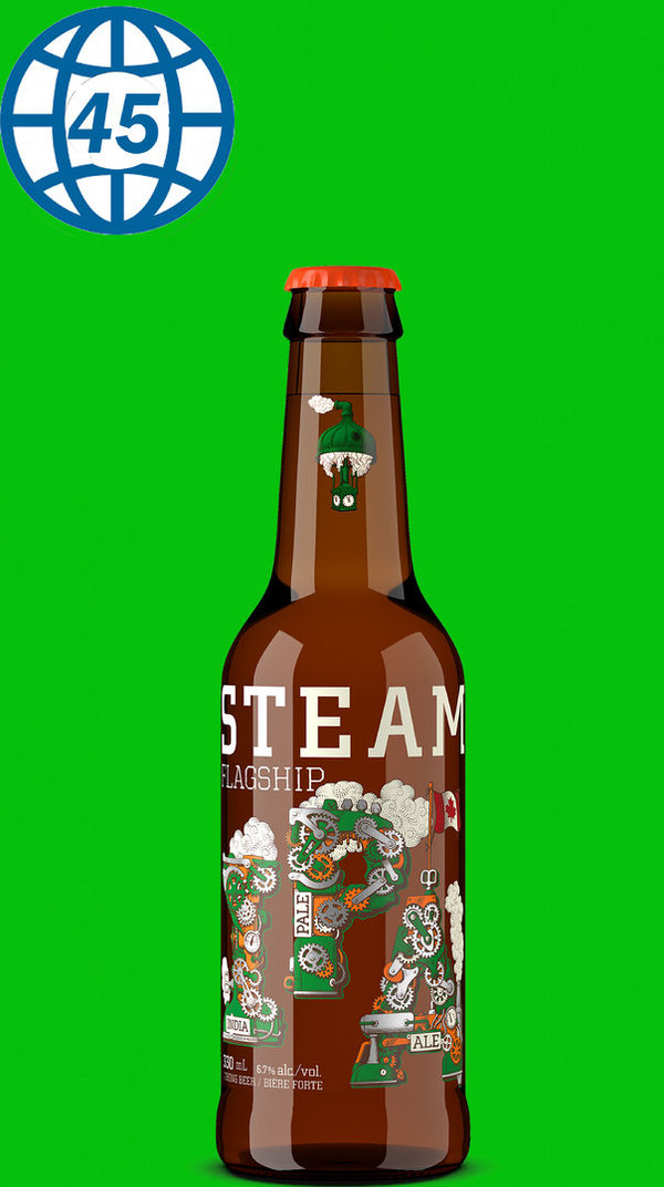 Steamworks Flagship IPA 0,33L Alk 6,7% vol