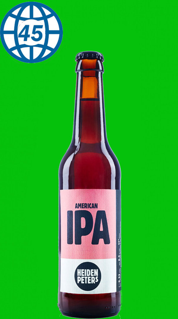 Heiden Peters IPA  0,33L alk 5,3% vol
